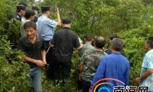 男子偷槟榔持刀伤人逃进山林 海口大致坡警民合力擒凶