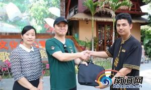 游客挎包被顺走 三亚槟榔谷员工检索600个探头帮找回