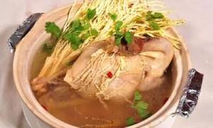 特色槟榔美食:槟榔花鸡