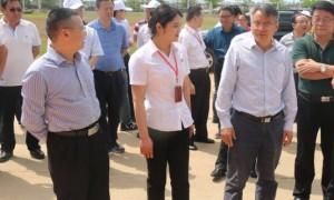 海南省副省长刘平治一行到口味王集团海南基地进行产业扶贫调研工作